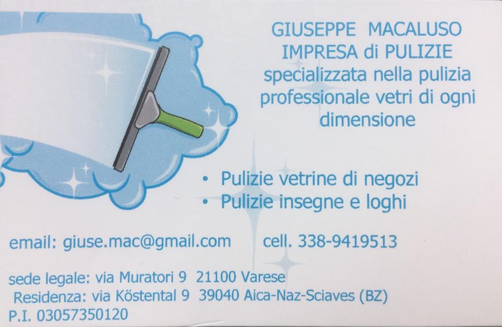 Pulizia vetri Bressanone